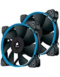 Corsair SP120 Quiet Edition Ventilador de PC, 120 mm (Paquete Doble)