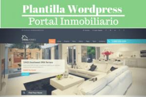 Plantilla WordPress para portal inmobiliario