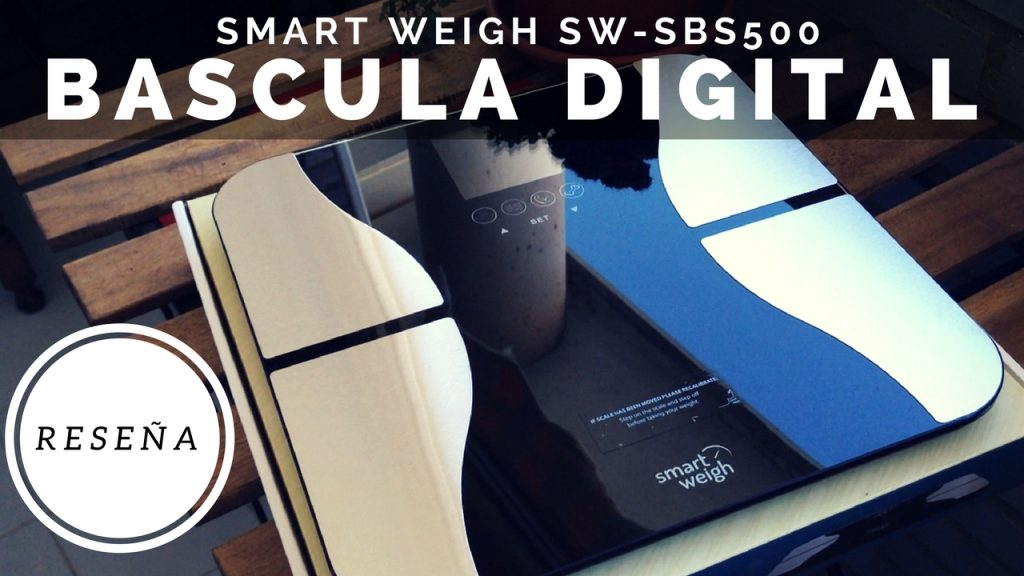 Bascula Digital Smart Weigh SW-SBS500