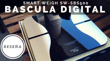 Báscula Digital Smart Weigh SW-SBS500 Reseña