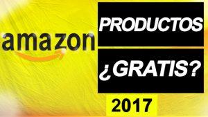 ¿Se puede conseguir productos gratis en Amazon? 2017