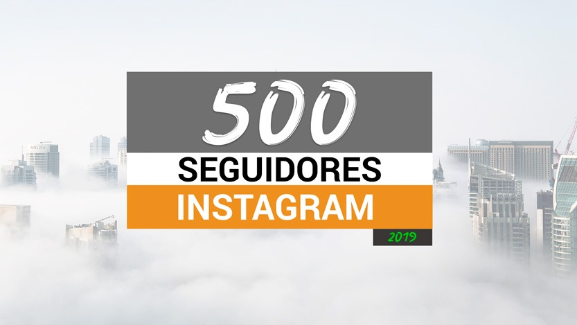 500 seguidores Instagram